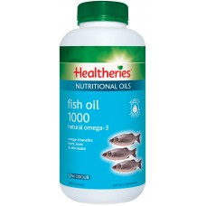 Healtheries Fish Oil 1000 Natural Omega 3