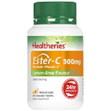 Healtheries Ester-C ® 500mg Chewable Tablets