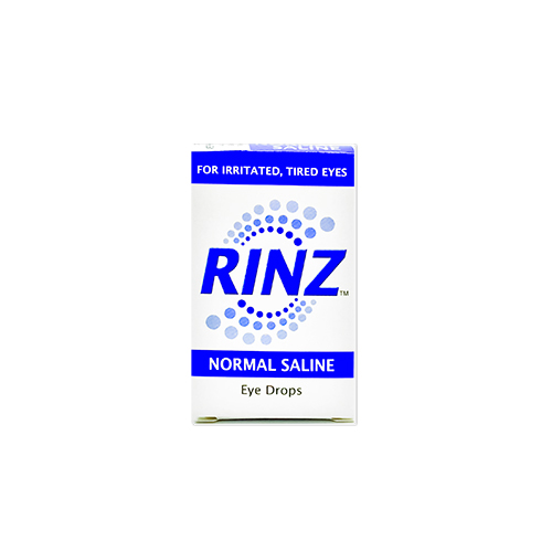 RINZ Normal Saline Eye Drops - Medic Drugstore