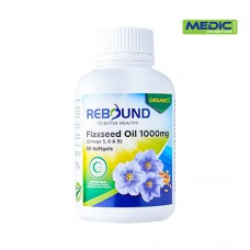 Rebound Flaxseed Oil 1000mg (Omega 3, 6, 9)