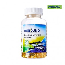 Rebound Cod Liver Oil 275mg 500 Softgels